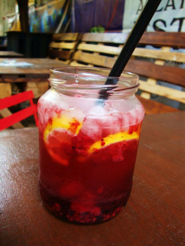 erdei gyumis lokal limonade